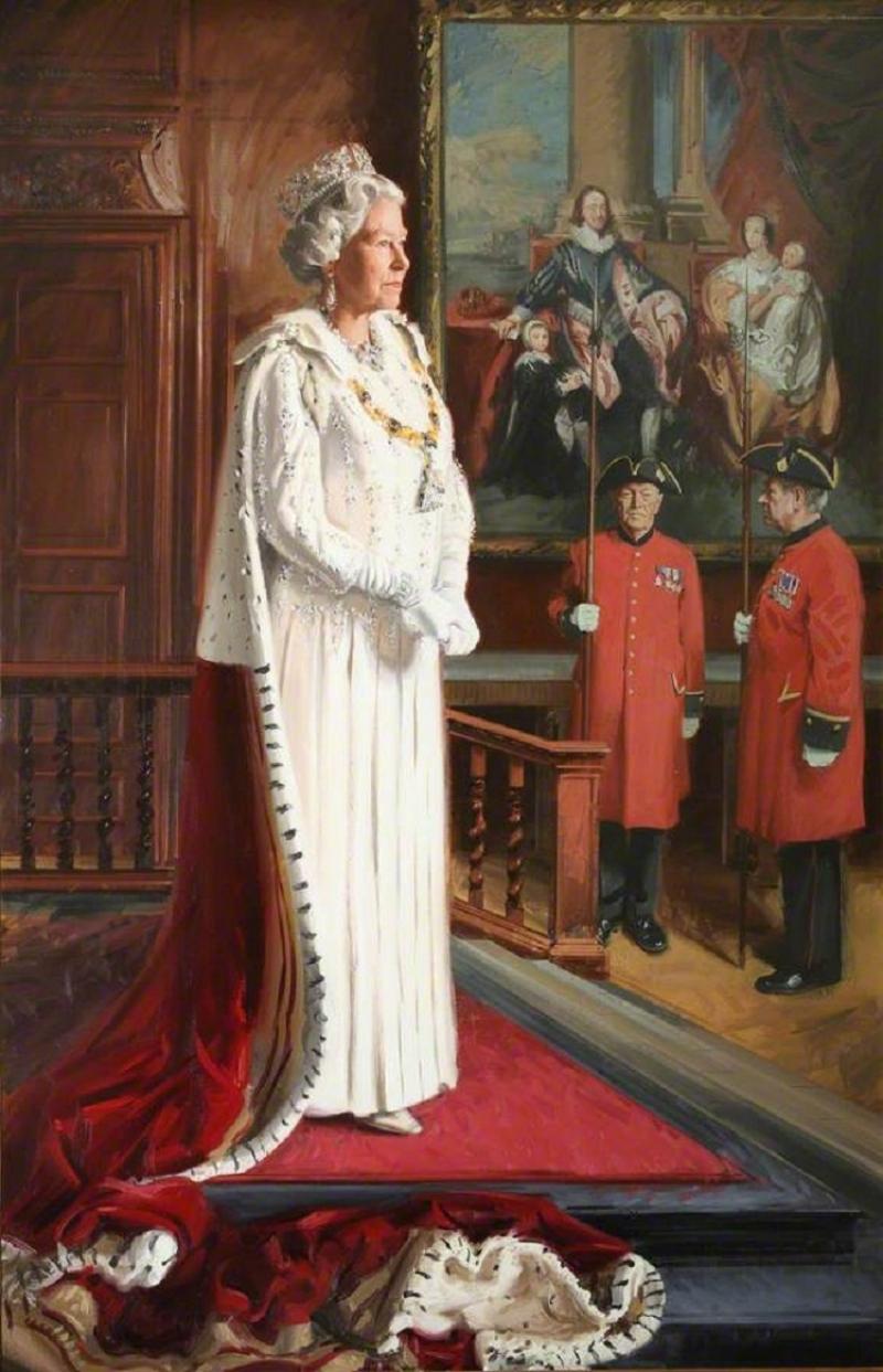 Елизавета II в 2013 году