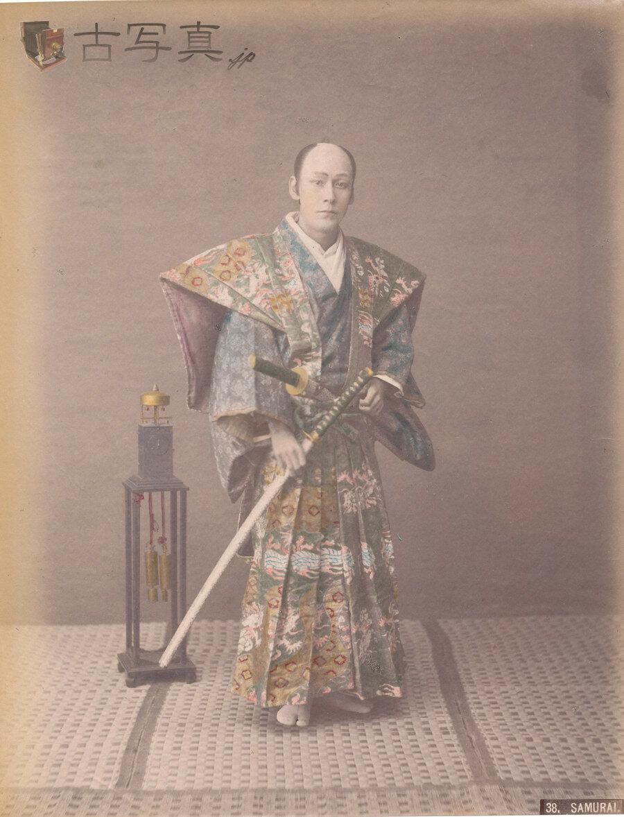 Самурай и японские часы