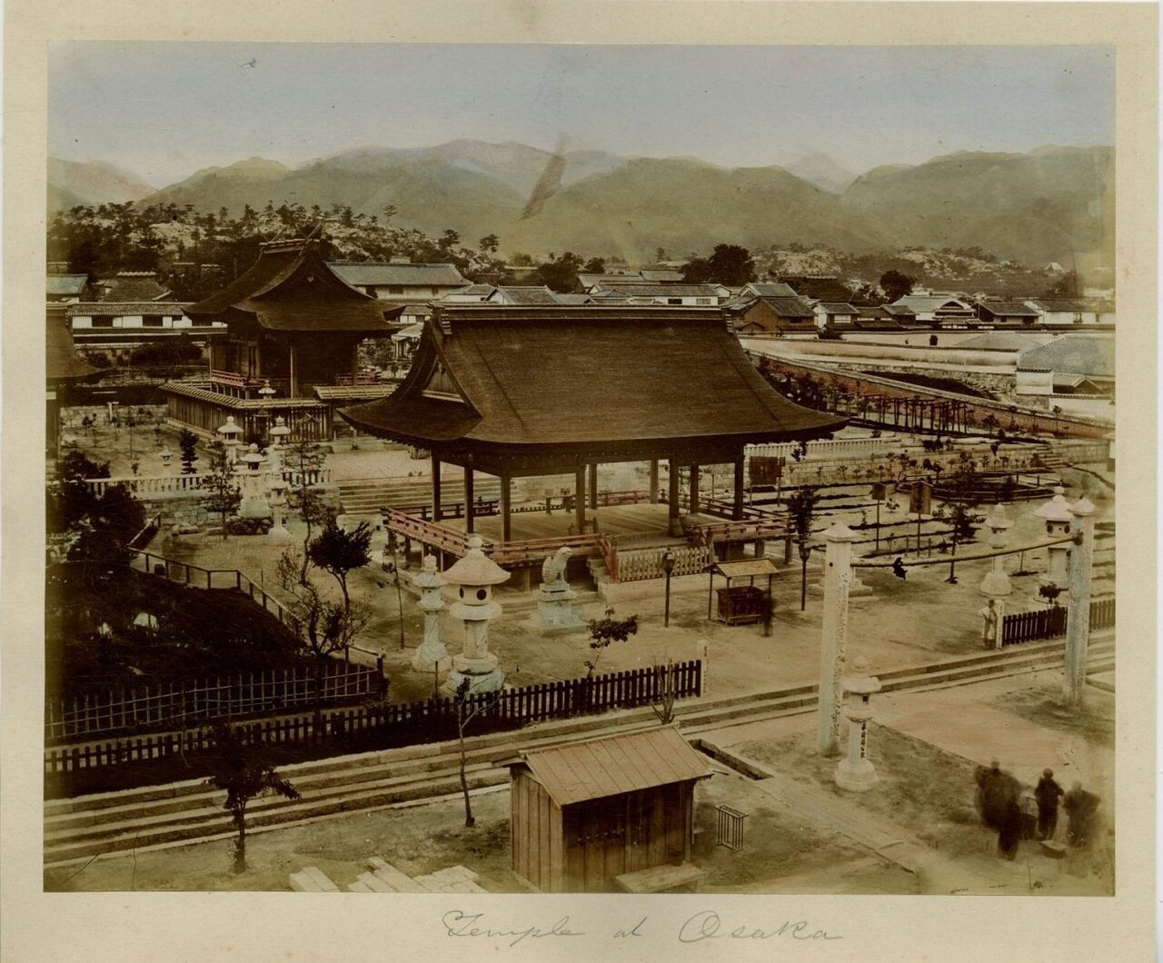 Осака. Храм
