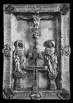 Оклад Евангелия с изображением Голгофы.Словакия.начало 15в.