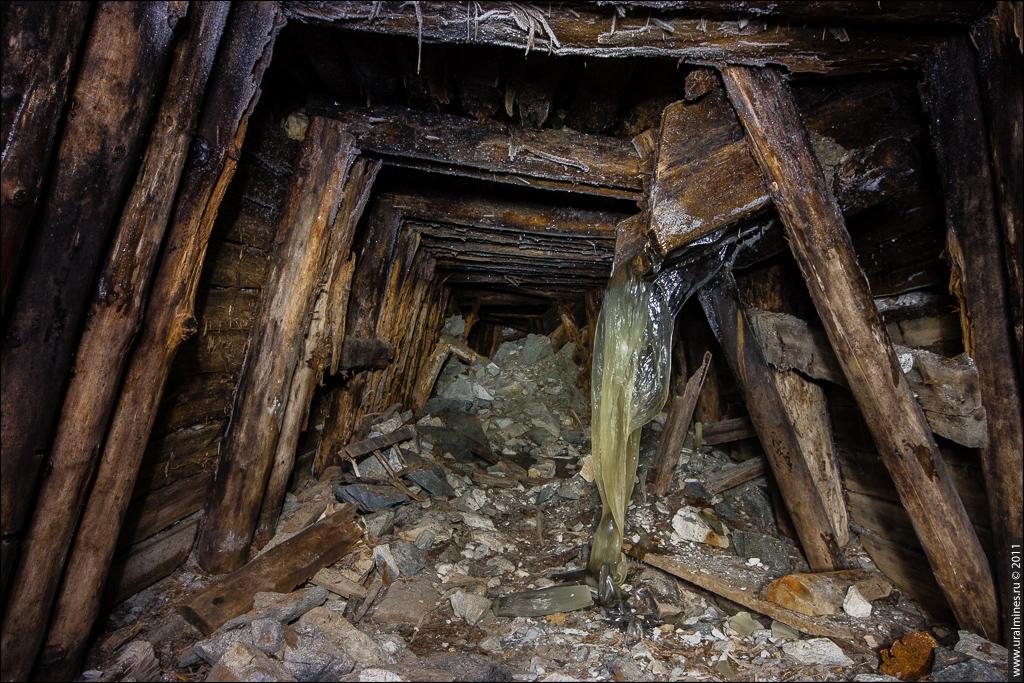 Подземелья шахты Слюдорудника