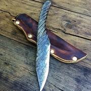 К чему падает нож?