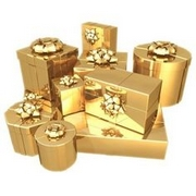 золотая свадьба подарки