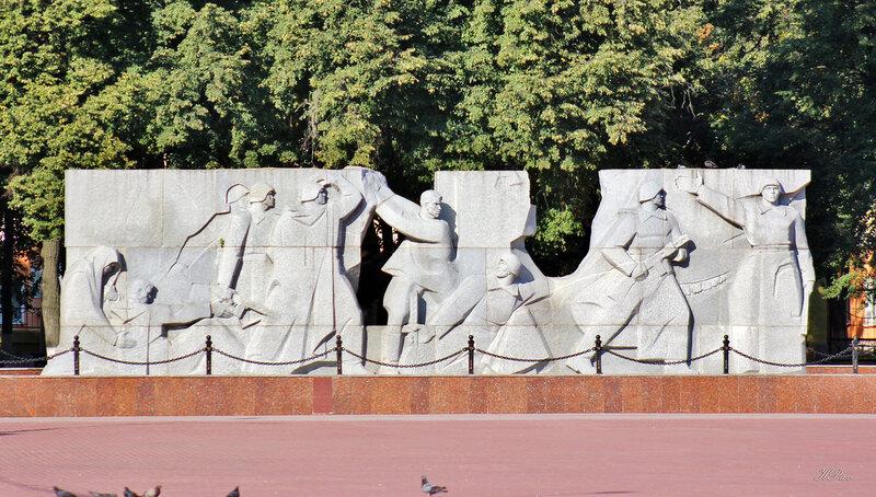 Монумент солдатам, погибшим в Великой Отечественной войне