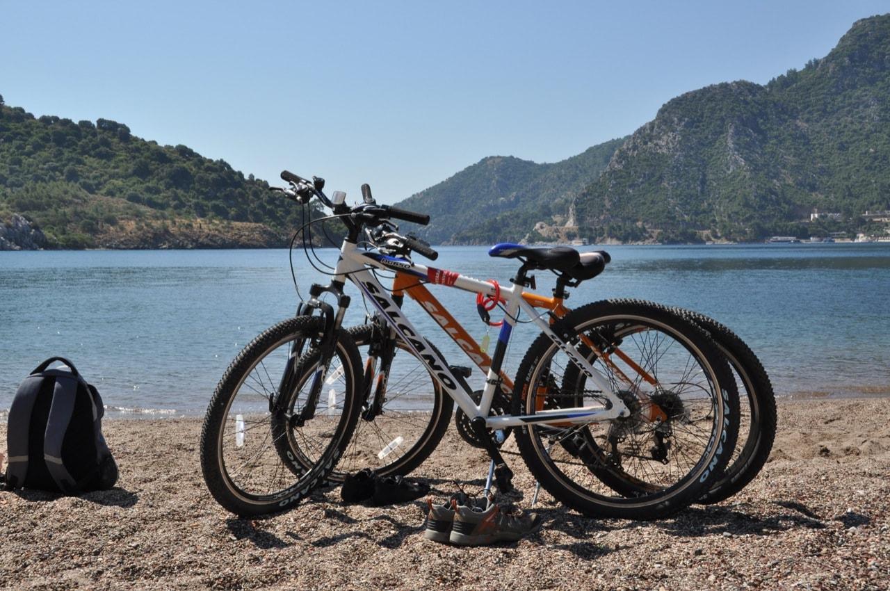 Наши арендованные велосипеды