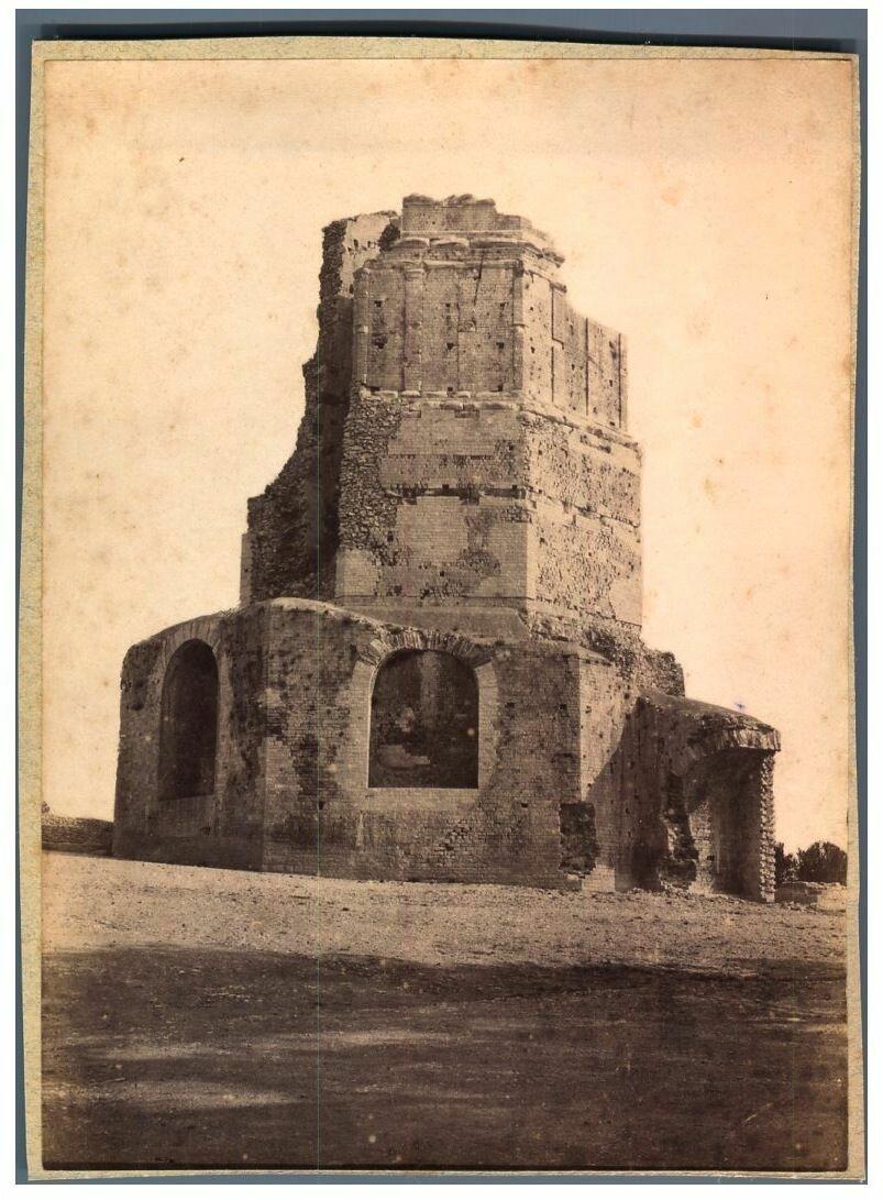 Галло-римская башня Мань. 1890-е