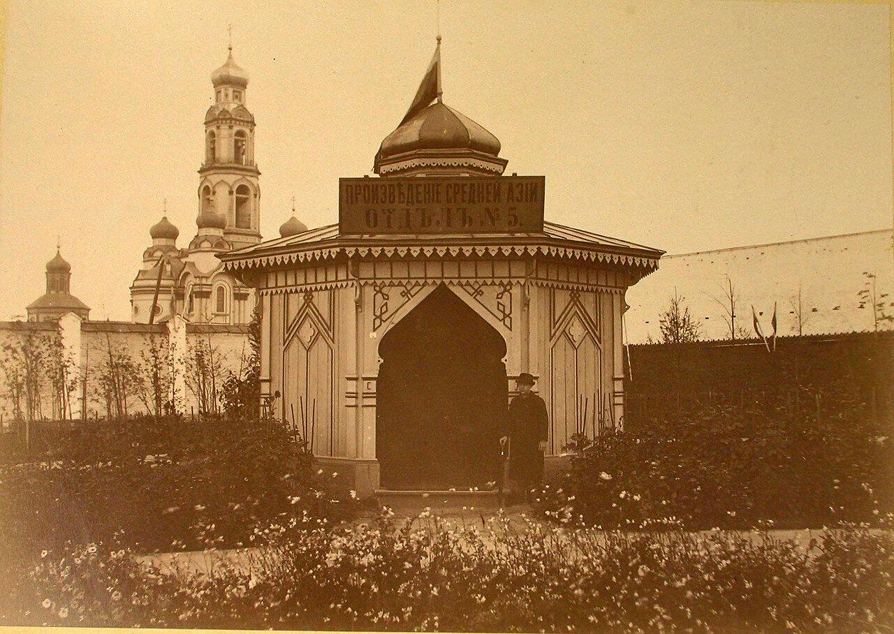 26.Вид павильона, где размещался отдел № 5 - Произведения Средней Азии