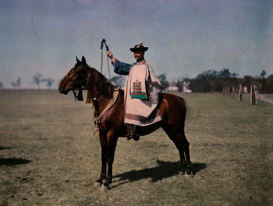 1930. Венгрия. Портрет пастуха из Хайду
