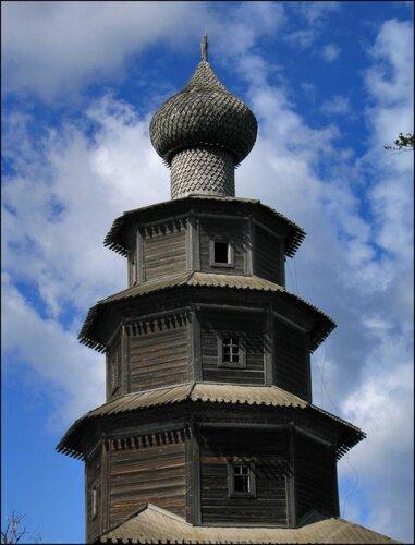 Деревянная церковь в Торжке
