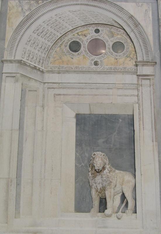 Лев со Скуолы Сан-Марко