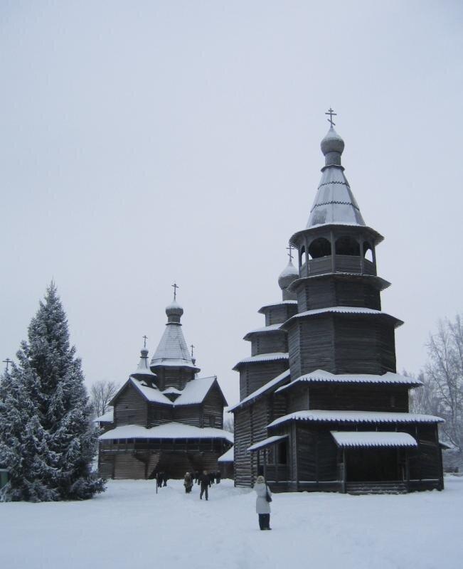 Никольская церковь из с. Высокий Остров. Вт. пол. 18 в.