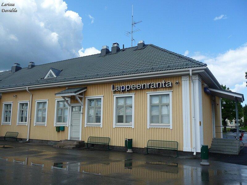 Лаппеенранта. Вокзал.