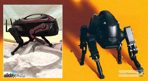 Военные роботы от Boston Dynamics. Обзор и видео.