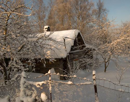 В снежном плену...