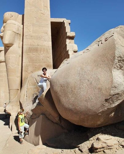 Луксор. Гигант без лица, Рамзес из колечек, мумии и другие