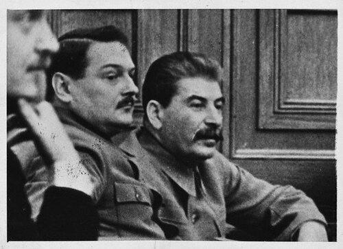 А.А.Жданов и И.В.Сталин