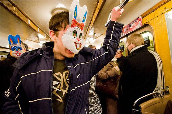 кто ловит зайцев на метро