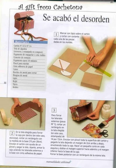 Узнаете - подскажите пожалуйста - Даже со схемой.  Посмотрите коробочки-шкатулочки из открыток и здесь.