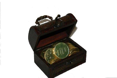 Как упаковать монеты в подарок 76