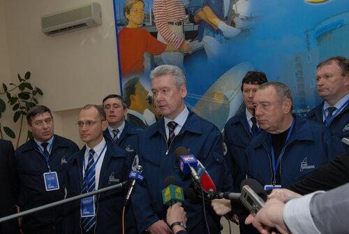 Официальные лица на физпуске второго энергоблока Ростовской АЭС