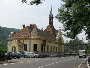 Чанадиево. Железнодорожная станция «Карпаты» –  замок в миниатюре