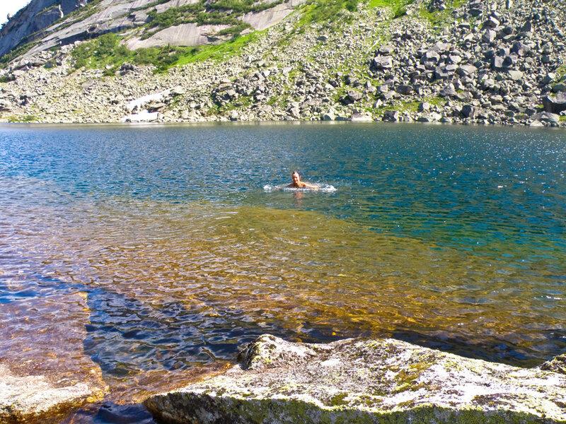 Искупаться в озере Горных Духов
