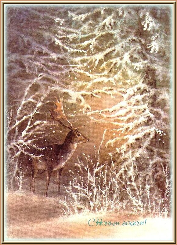 ЗИМНЯЯ СКАЗКА...                     Поздравляю всех с Новым Годом!!!...