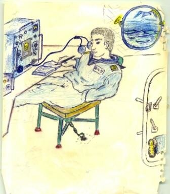 Рисунок сослуживца