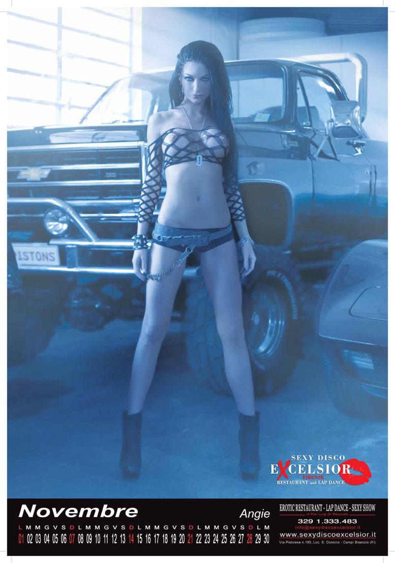 Sexy Disco Excelsior calendar 2010