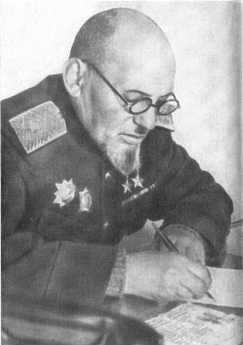 С.А. Ковпак в Верховном суде УССР (1947 г.).