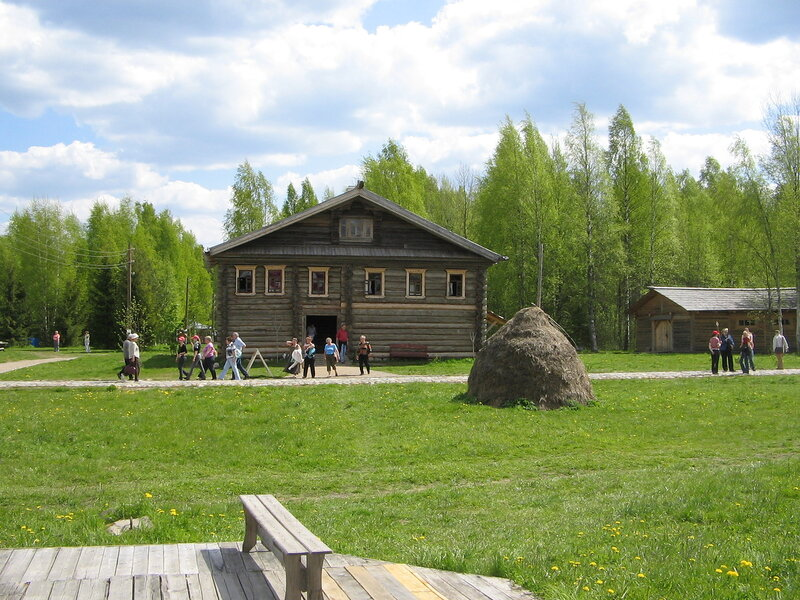 Мандроги - архитектурно-этнографический комплекс