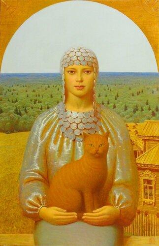 Русские красавицы Андрея Ремнёва