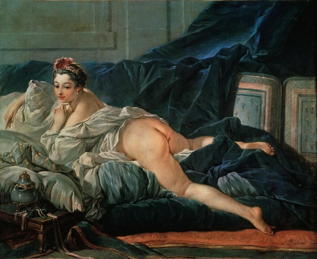 32.Одалиска (1743) (53 х 65) (Реймс, Музей искусств).jpg