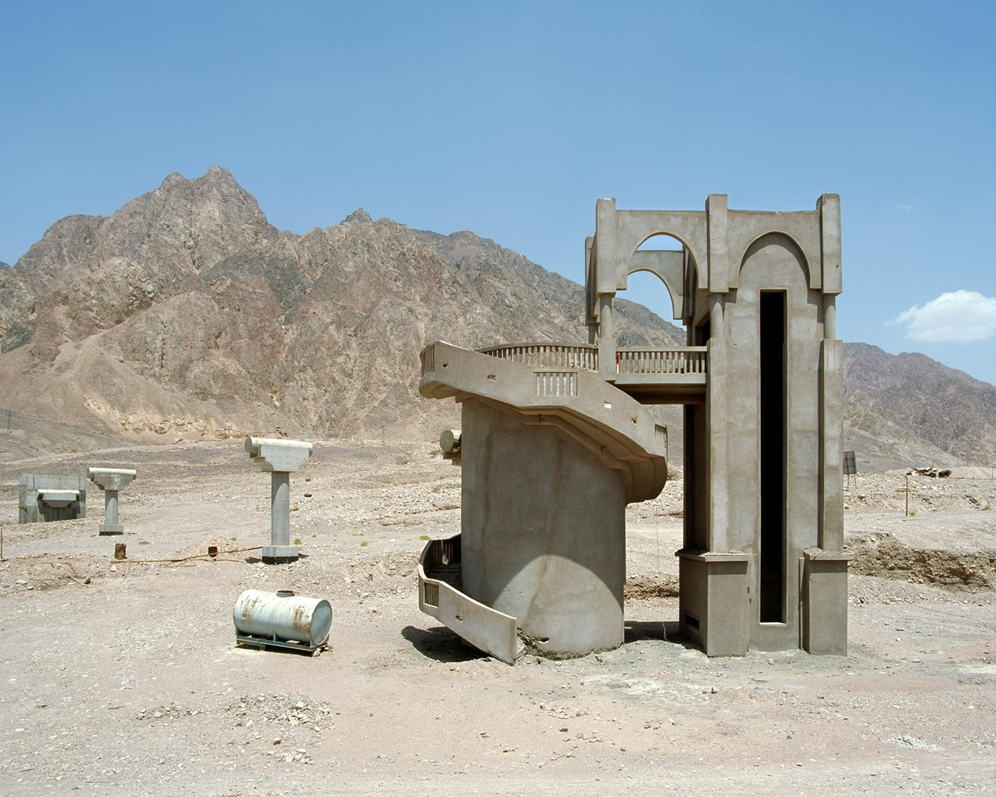 Недостроенные и заброшенные египетские отели в проекте немецких фотографов