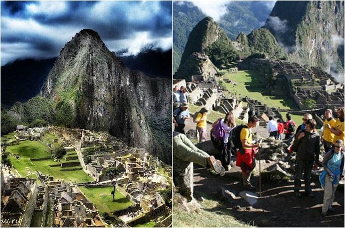 Город древней Америки, находящийся на территории современного Перу, на вершине горного хребта на выс