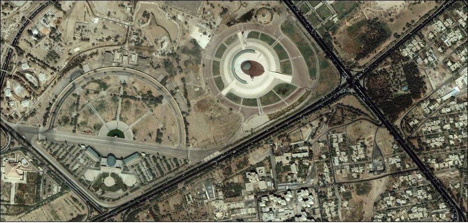 24. Могила неизвестного солдата, Багдад, Ирак.