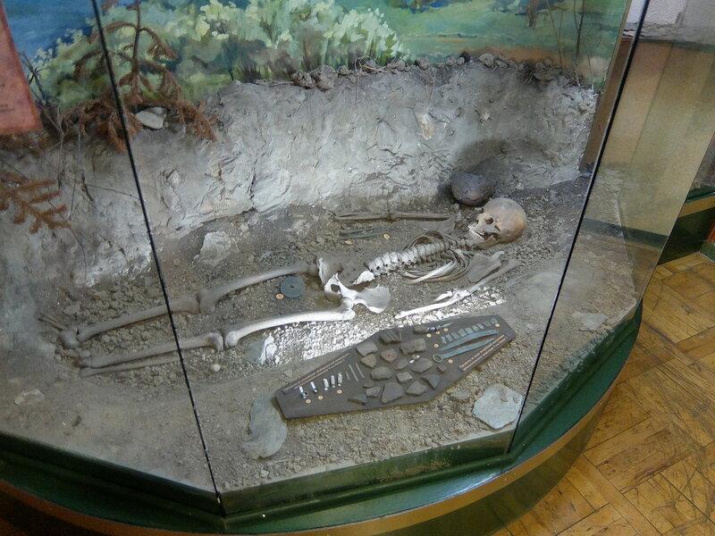 Таштагол - Музей - Усть-Кабырзинская принцесса