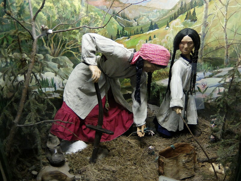 Таштагол - Музей - Земледелие