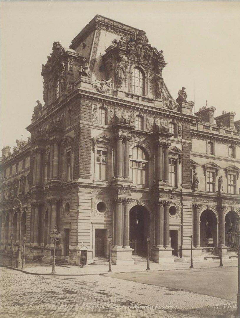 1880. Павильон Тюрго (Новый Лувр)