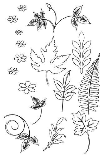 Шаблоны для изготовления цветов из