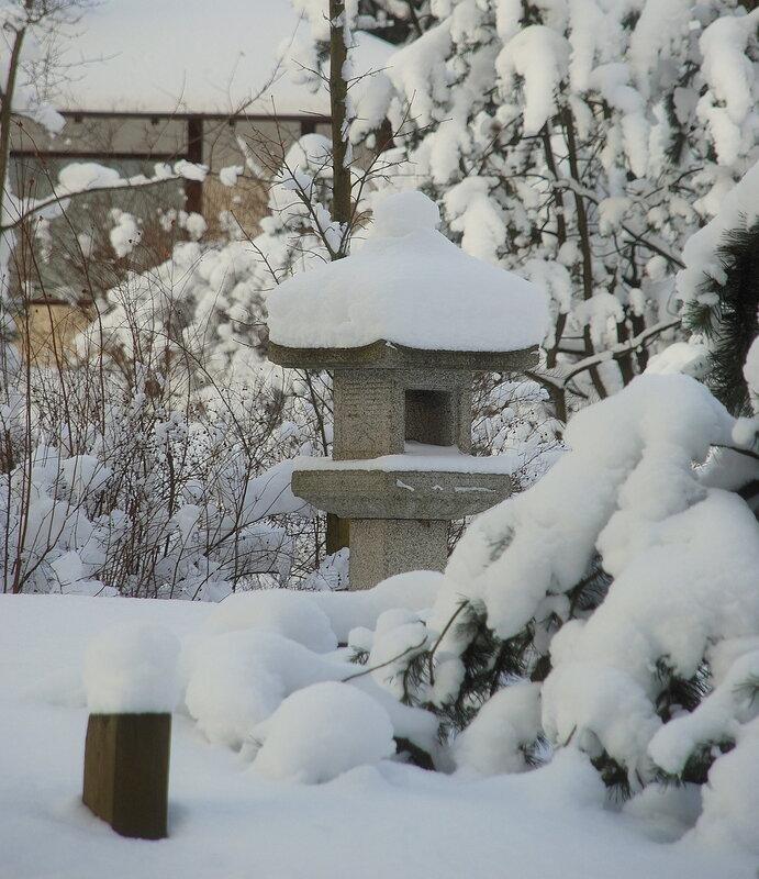 Снежная Япония в Москве ;-)