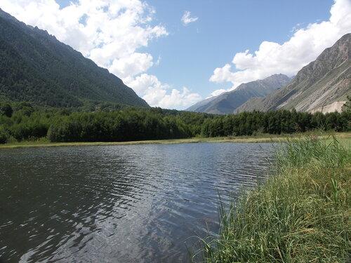 озеро в окрестностях пос.Верхний Баксан