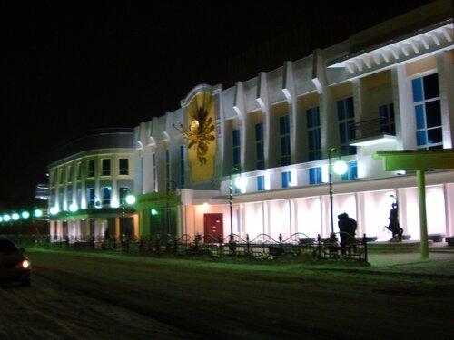 Астрахань, Новый Год-2009,ТЮЗ