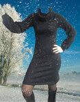"""Платье """"Зимняя ночь"""""""