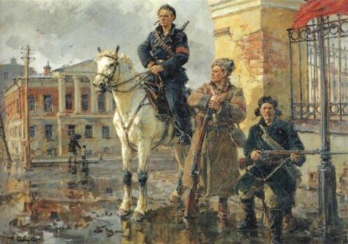 Георгий Савицкий.  Первые дни Октября 1949.