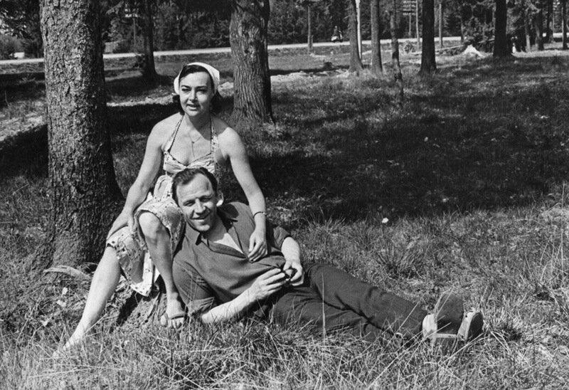 Михаил Александрович с Аллой Петровной