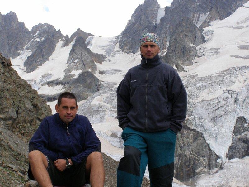 Сборы в альплагере Уллу-Тау. Август 2008 года