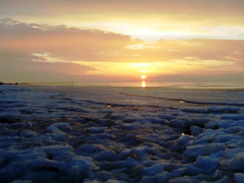 Лёд Ахтарского залива (9)