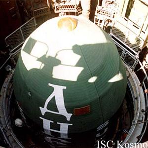 Ракета-носитель «Днепр» в шахтной пусковой установке. © «Космотрас»