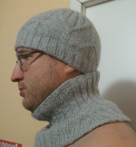Это изображение находится еще в архивах: вязаная шапка для девочки...